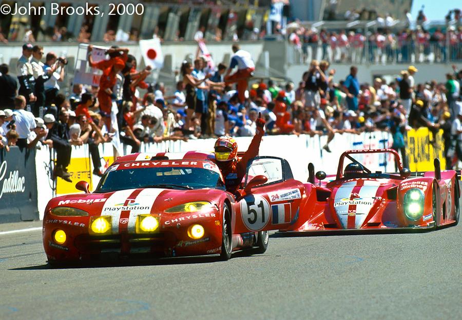 Category/chrysler >> Reynard 2KQ #005 24h Le Mans 2000 with Y.Dalmas --> SOLD