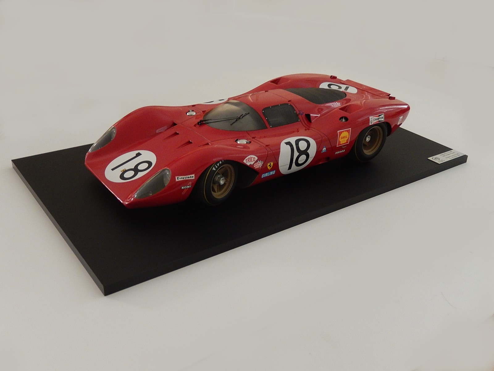 De Conto : Ferrari 312P  Le mans 1969 built by H.Duband part 1