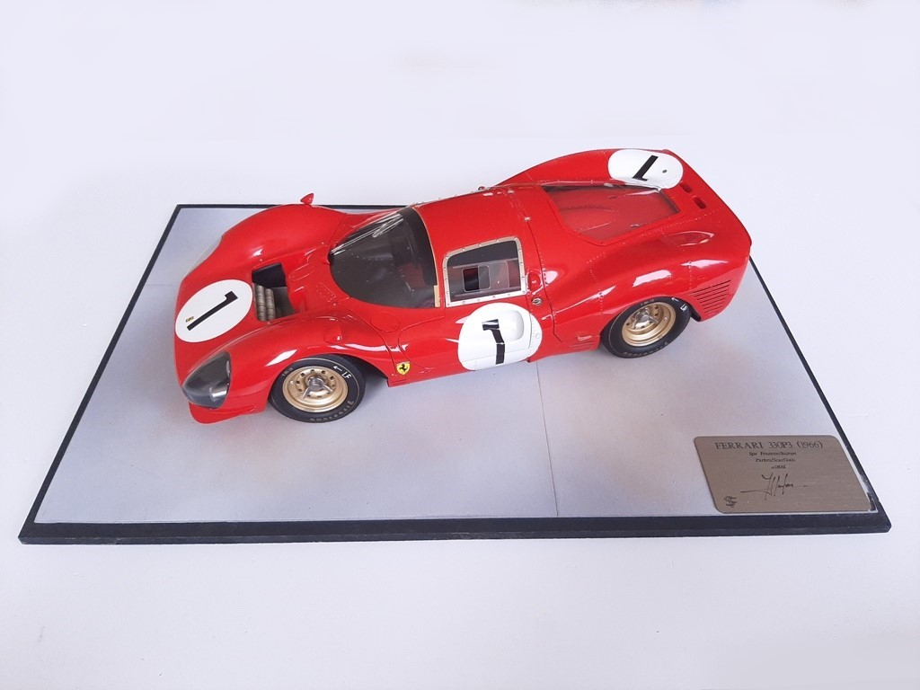 F. Suber : Ferrari 330 P3 Spa 1966 - 1/12 Scale -> SOLD