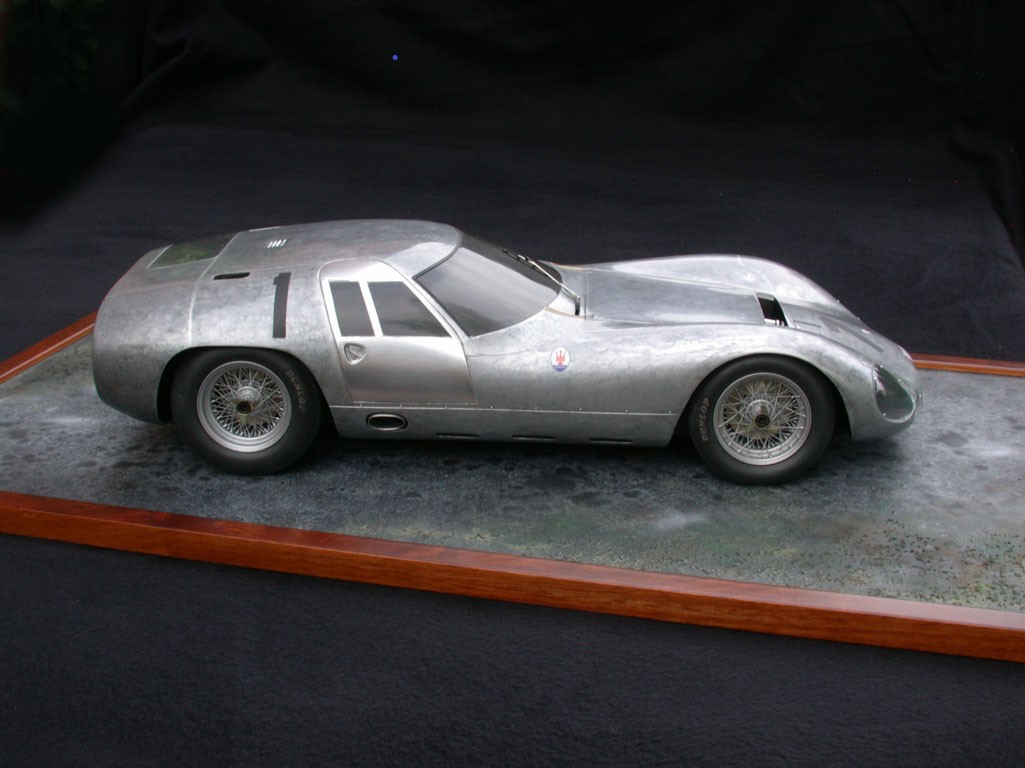 De Conto : Kit Maserati tipo 152 (151/3) Test 1964 --> Unique !!