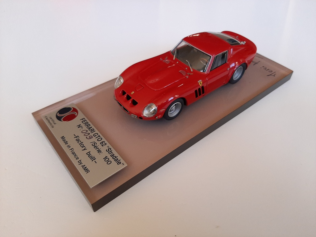 AM Ruf : Ferrari 250 GTO ref 5000 signed by AMR --> SOLD