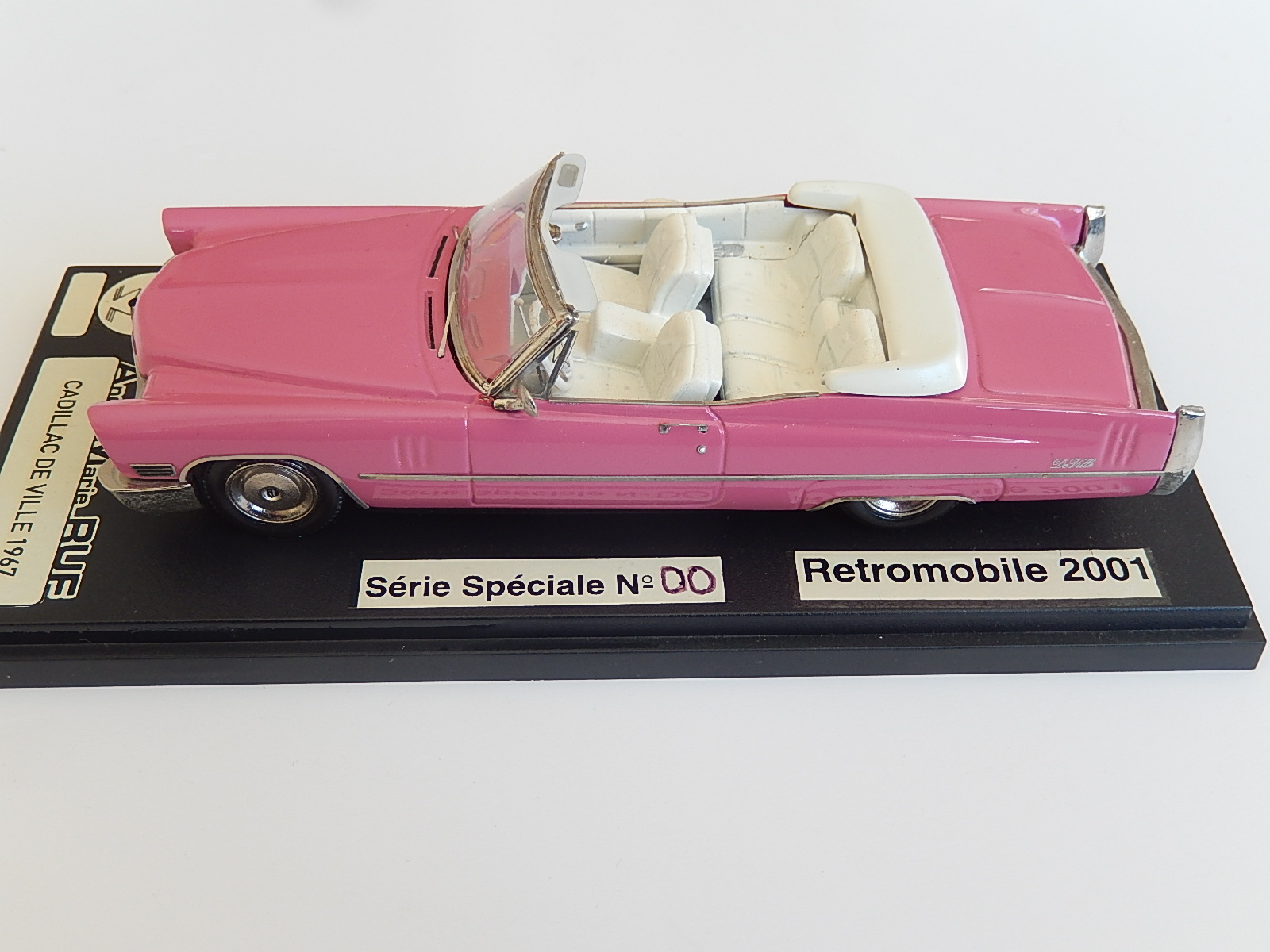 AM Ruf : Cadillac Deville, model of André Marie Ruf -> SOLD