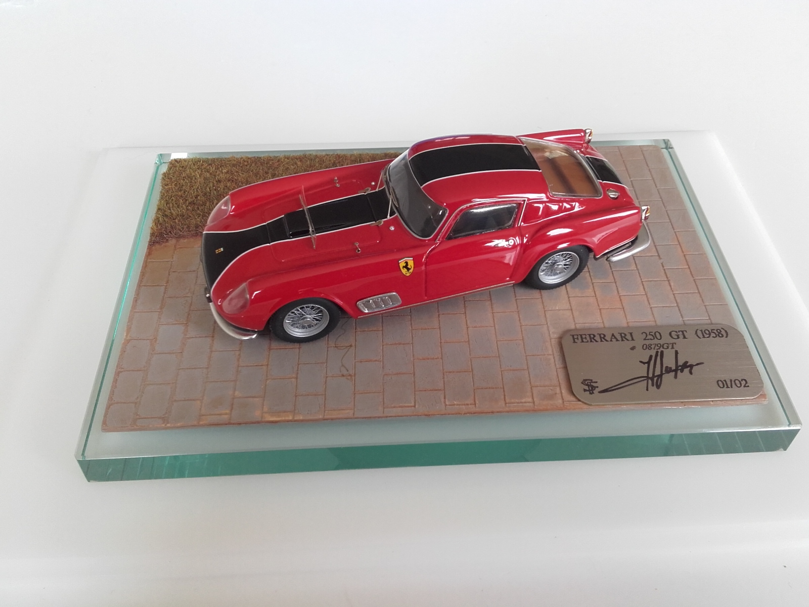 F. Suber : Ferrari 250 GT 1958 chassis 0879GT