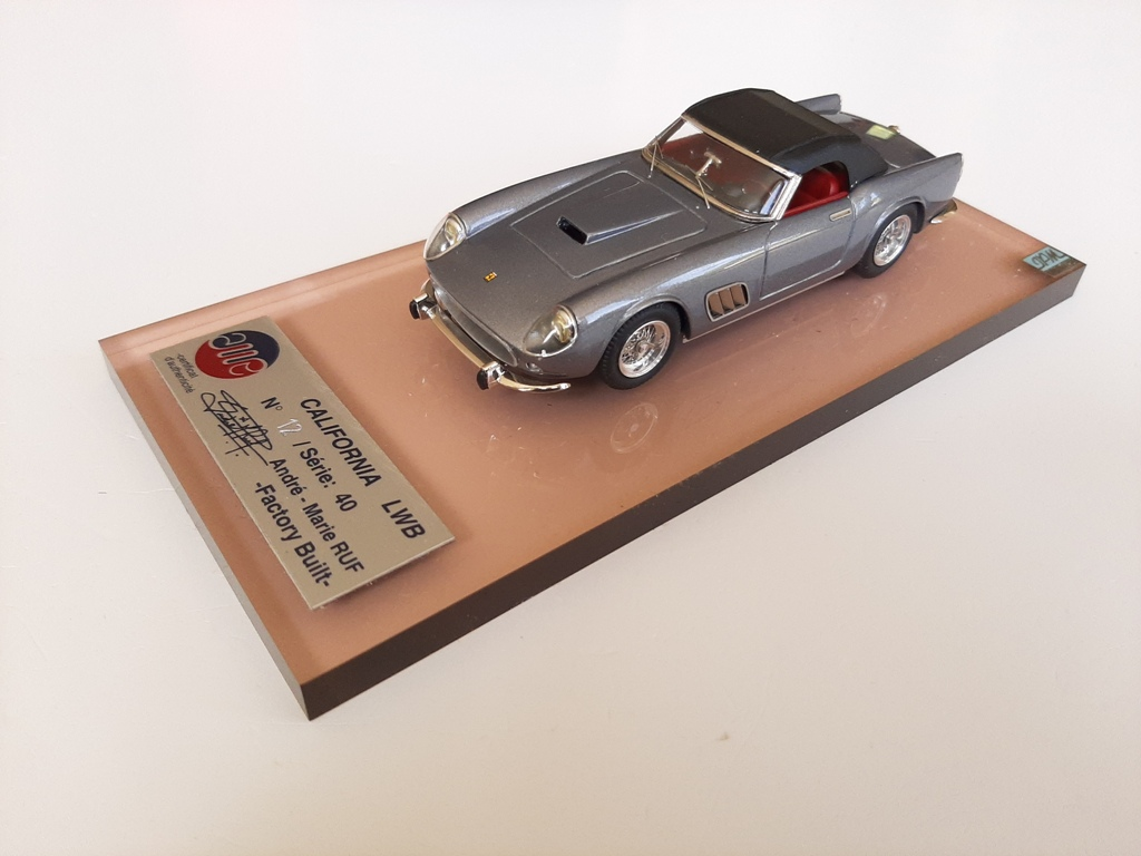 AM Ruf : Ferrari 250 LWB California grey metal --> SOLD