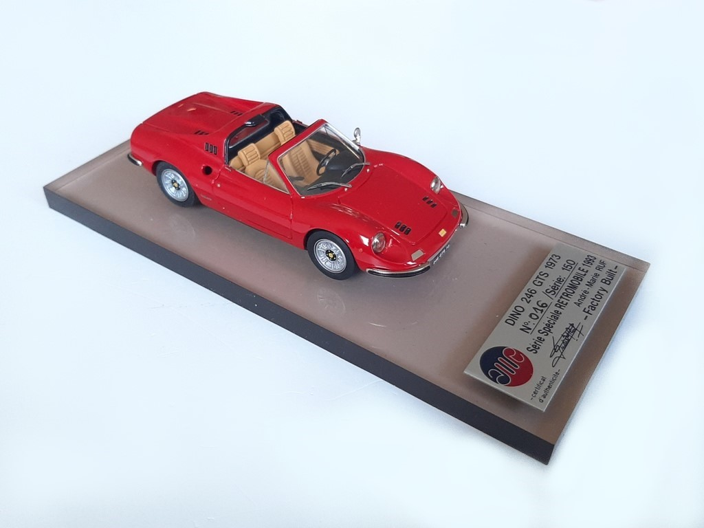 AM Ruf : Ferrari Dino 246 GTS for Retromobile Show 1993
