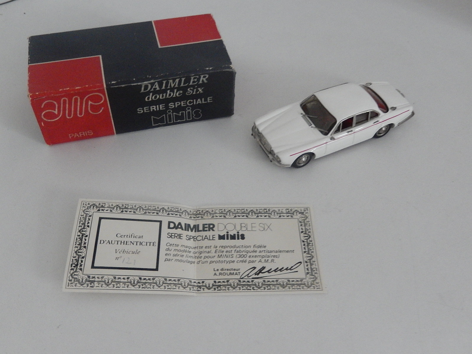 AM Ruf : Daimler Double six, special edition in 1976