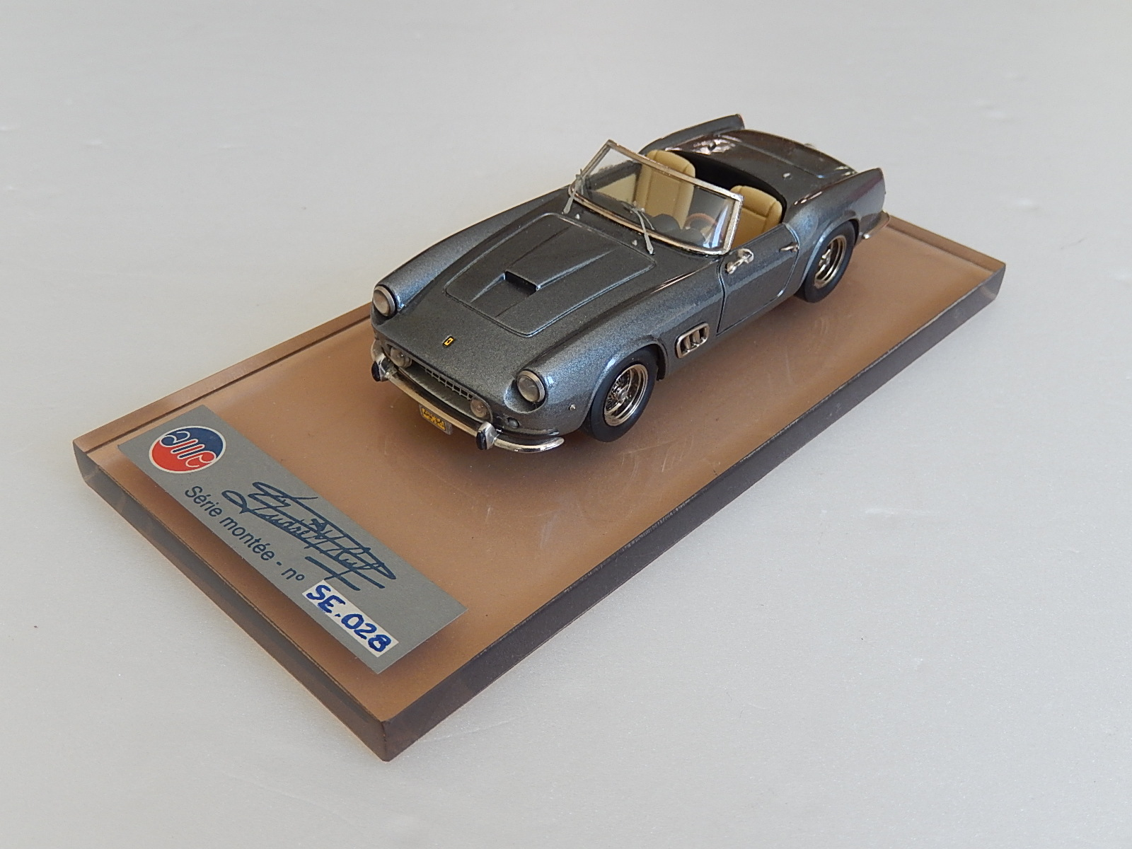 AM Ruf : Ferrari 250 spyder California Dark Grey ♥♥♥