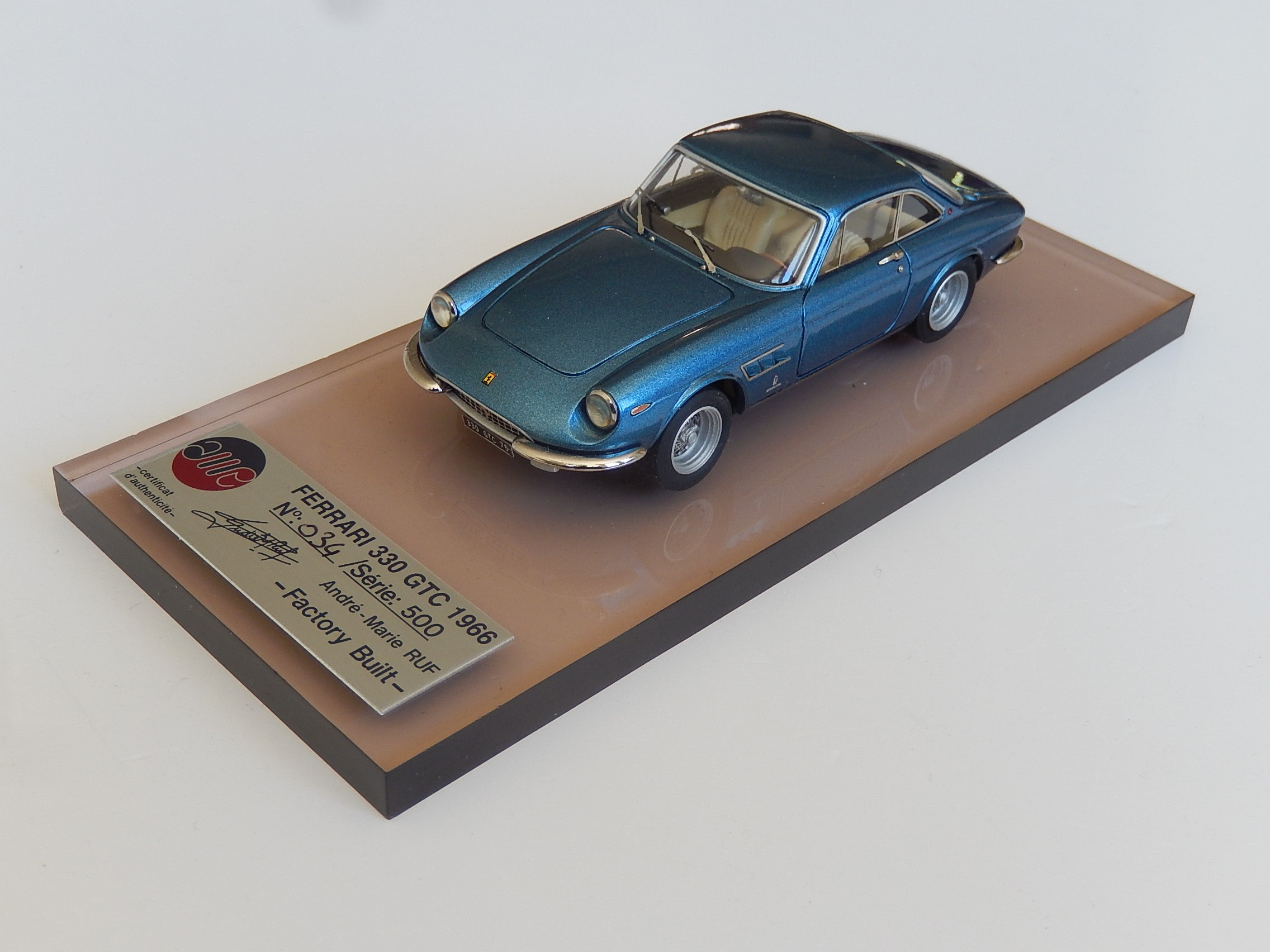 AM Ruf : Ferrari 330 GTC blue
