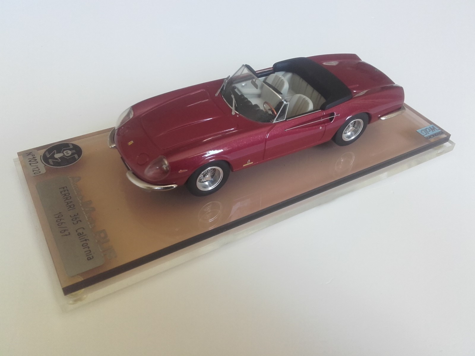AM Ruf : Ferrari 365 california rubino