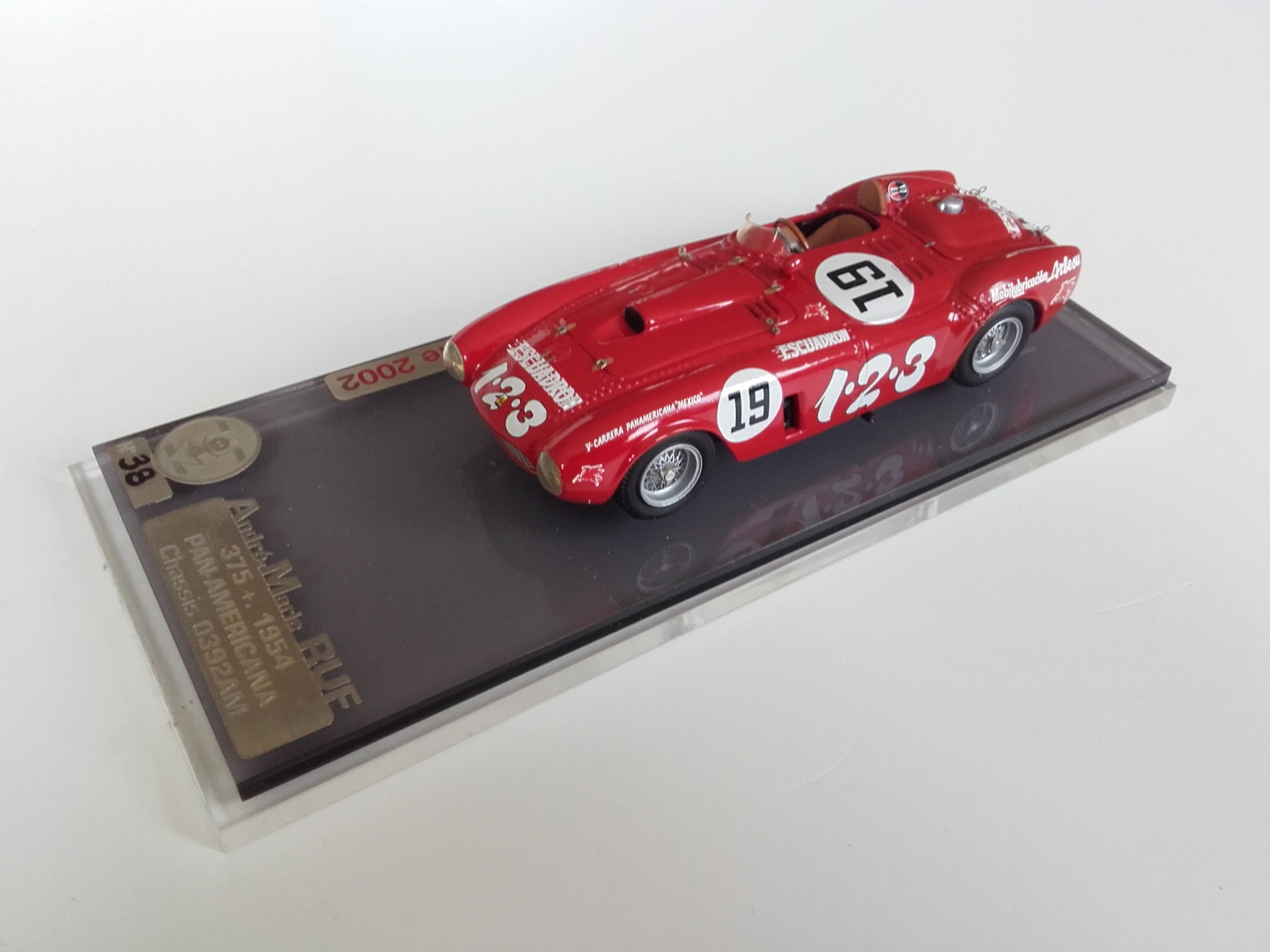 AM Ruf : Ferrari 375 + Winner Panamericana 1954 --> RESERVED