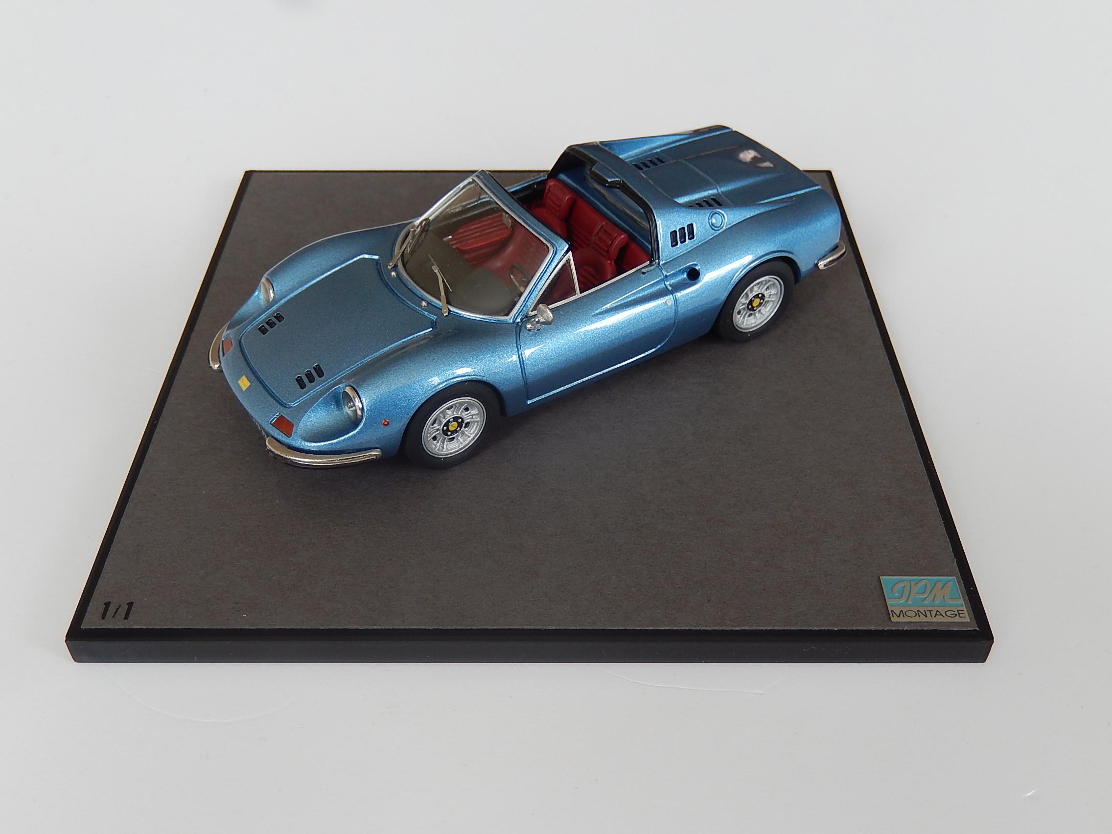 Jpm Ferrari Dino 246 Gts Blue Reserved Modelart111