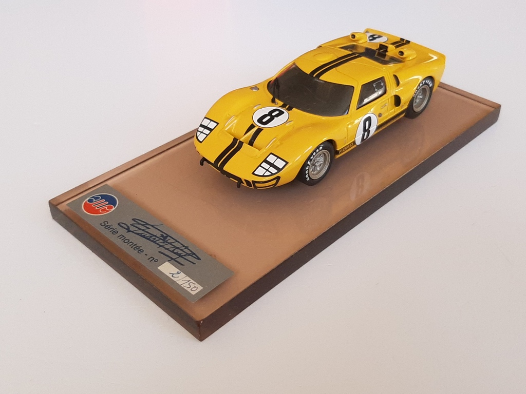 AM Ruf : Ford GT 40 Le mans 1966 n°8 --> Rare conditions !!