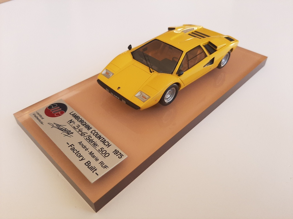 AM Ruf : Lamborghini countach LP400 yellow