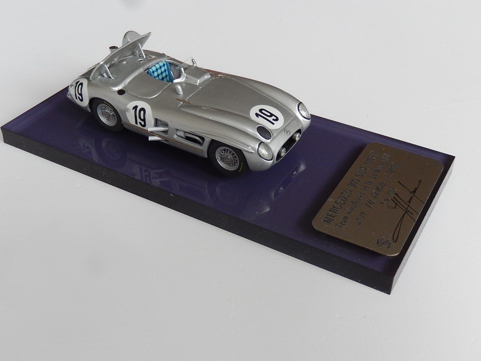 F. Suber : Mercedes 300 slr Le Mans 1955 Fangio - Moss