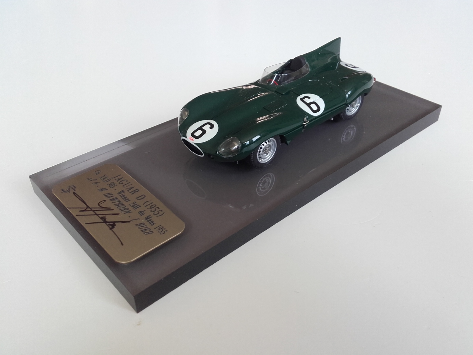F. Suber : Jaguar Type D Winner Le Mans 1955  --> RESERVED