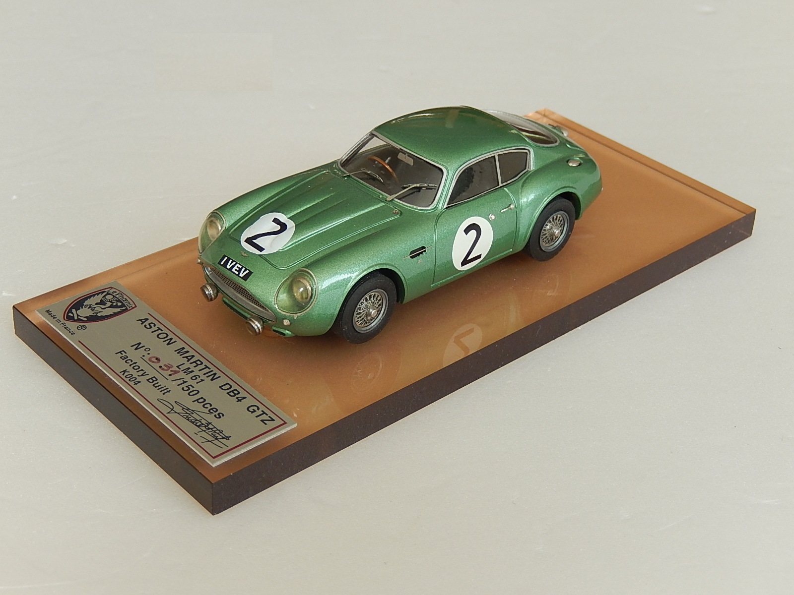 AM Ruf : Aston DB4 GT Zagato Le Mans 1961 --> SOLD