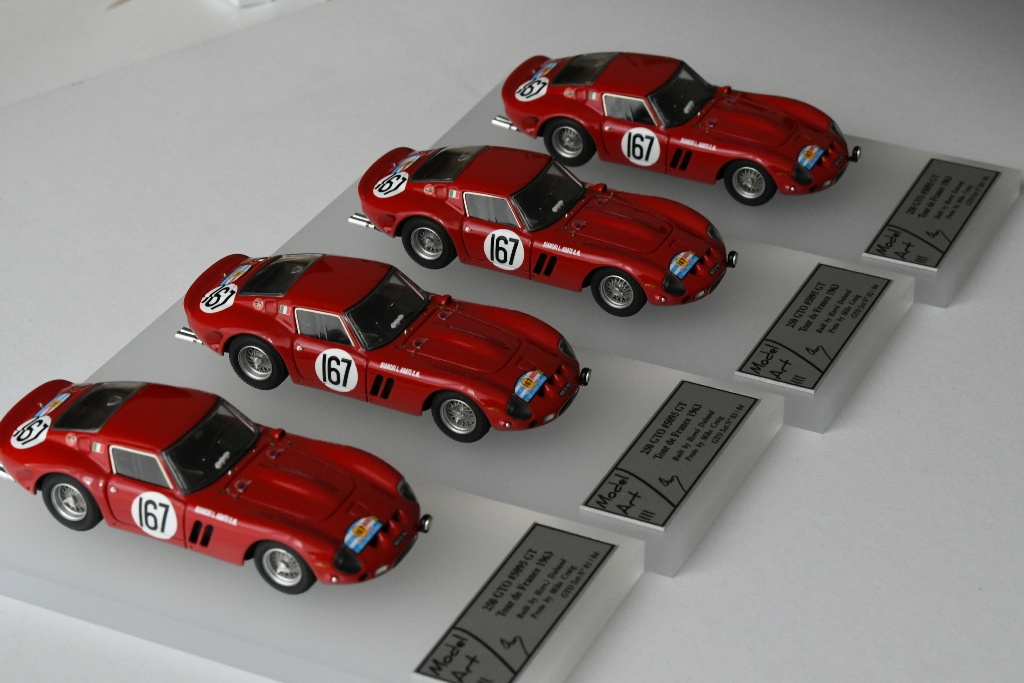 Modelart111 250 GTO Set : #5095 Tour de France 1963