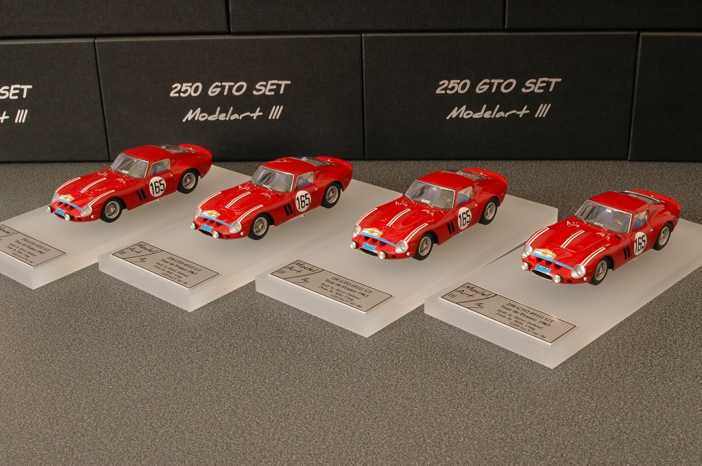 Modelart111 250 GTO Set : #5111 Tour de France 1963