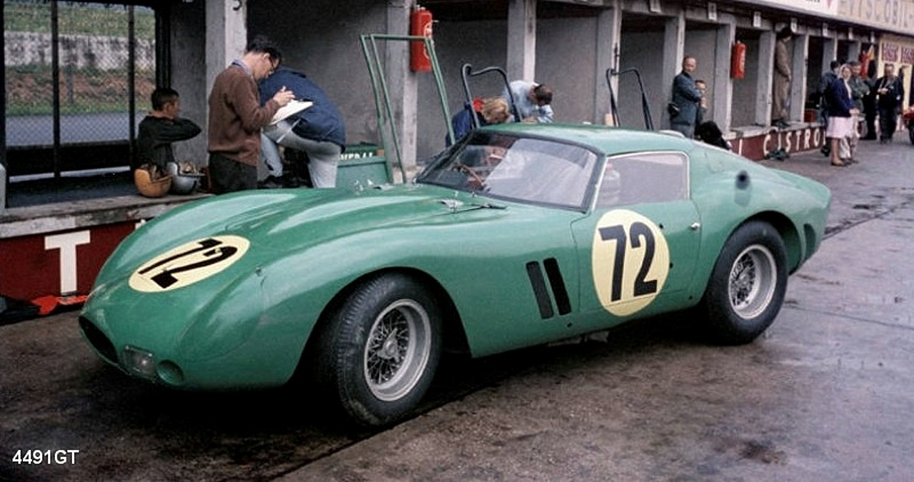 M. Craig : Kit Ferrari 250 GTO Low roof #4491GT ref 3A
