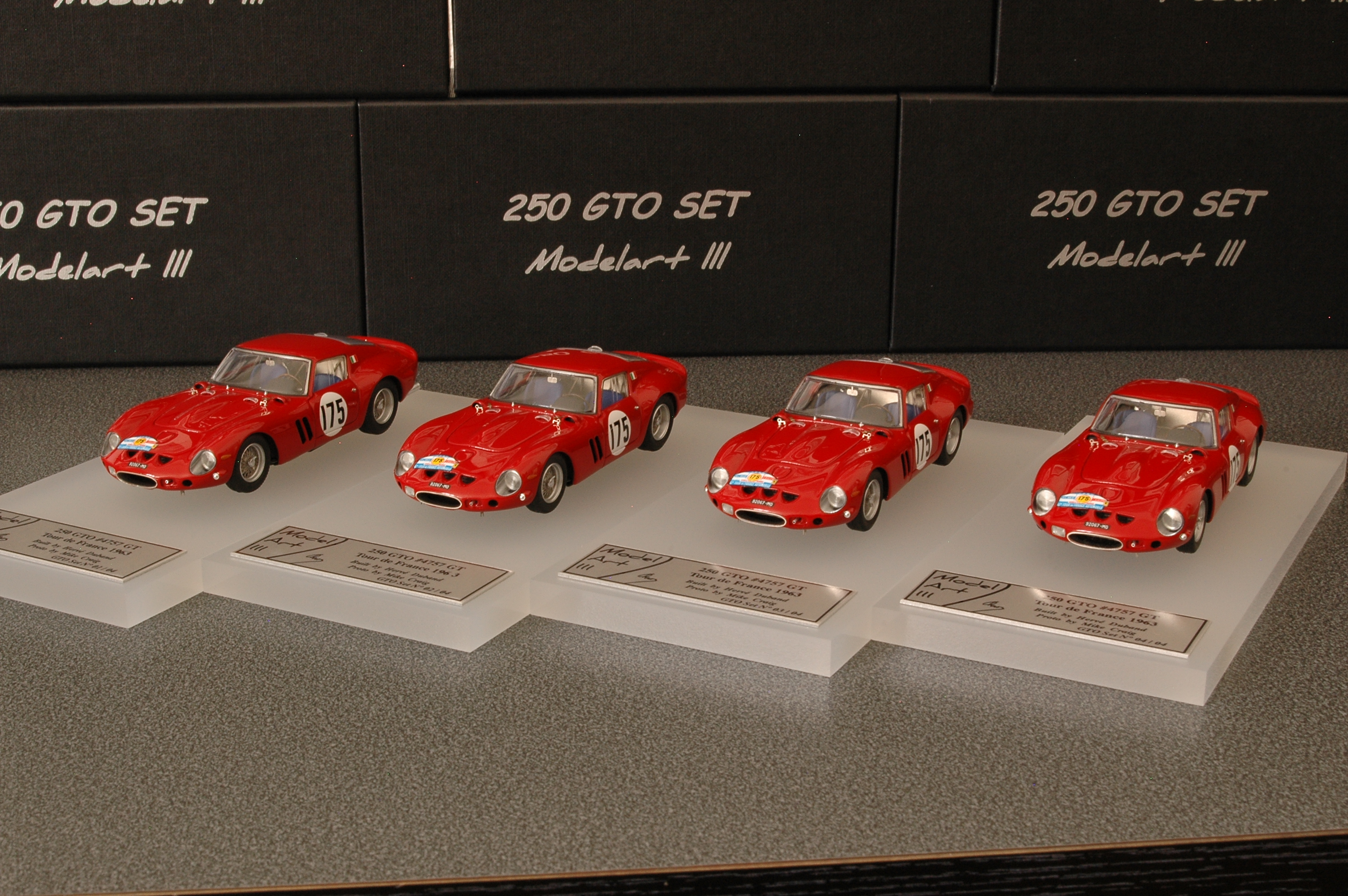 Modelart111 250 GTO Set : #4757 Tour de France 1963