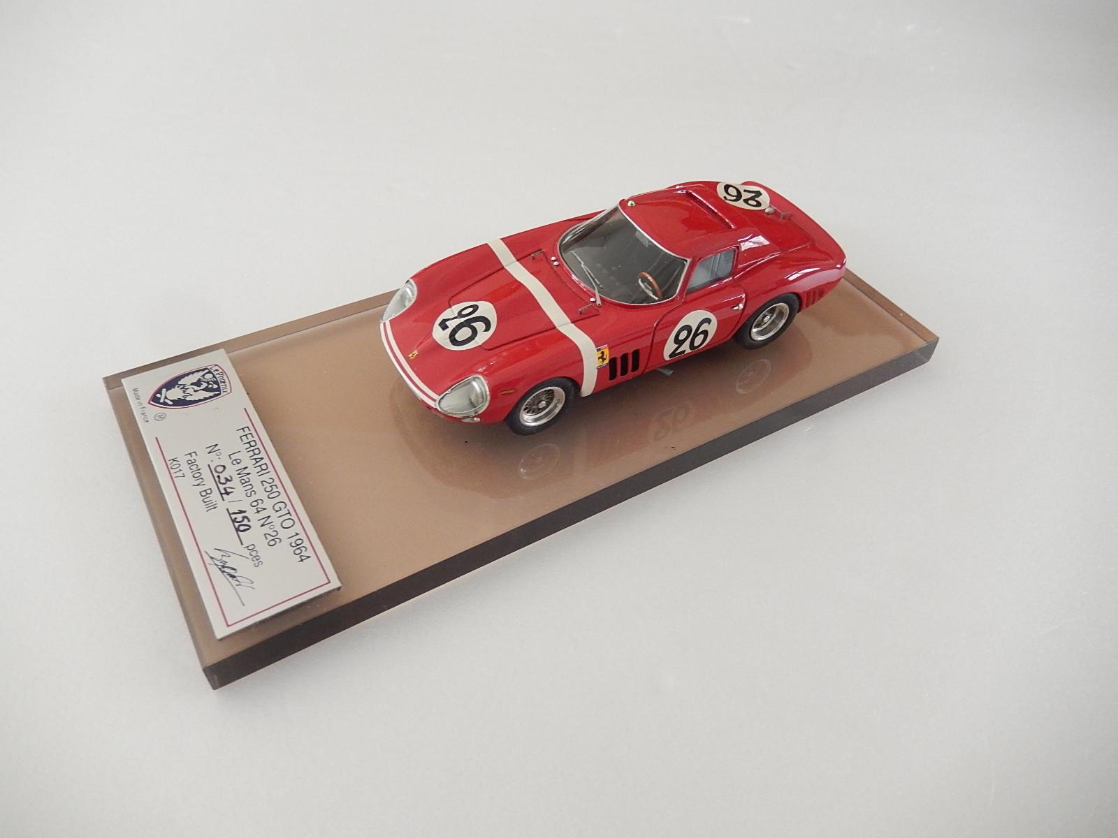 Lephoenix Ferrari 250 Gto 64 Le Mans 1964 Sold Modelart111