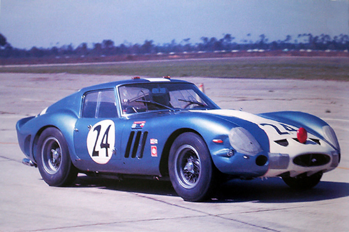 "AM Ruf : Kit Ferrari 250 GTO Sebring 1963 ""Mecom Racing"""