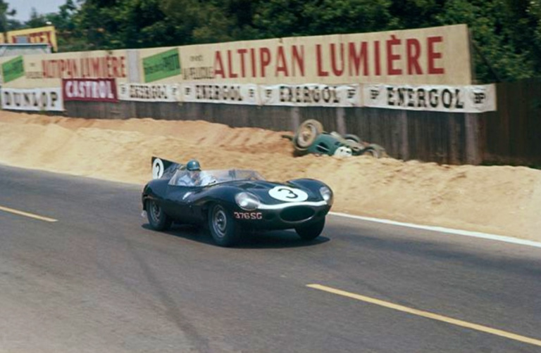 Lephoenix : kit Jaguar Type D winner le mans 1957  --> Reserved