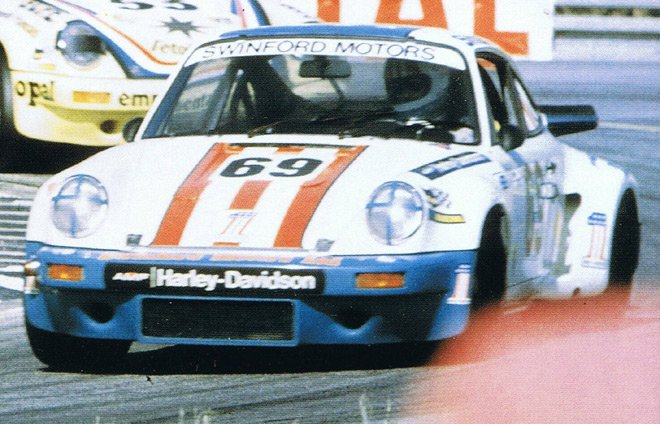 "AM Ruf : Kit Porsche 911 Carrera ""Harley"" le Mans 1975"