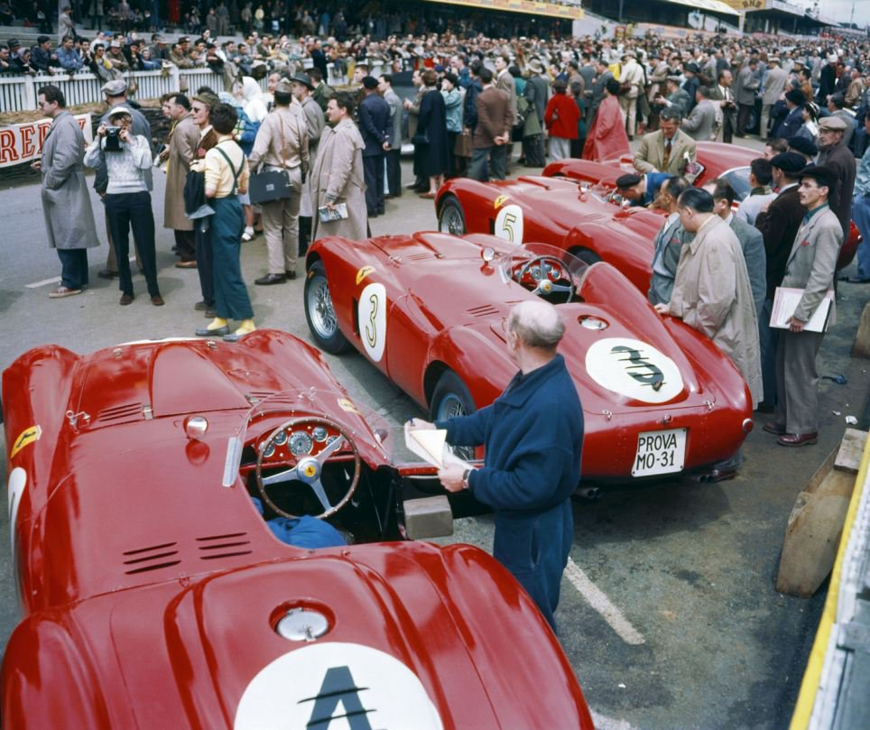 Feeling43 : Kit Ferrari 375+ winner Le Mans 1954