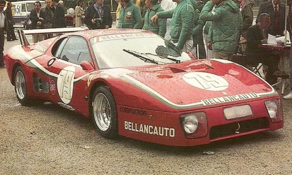 AM Ruf : Kit Ferrari 512 Bellancauto Le Mans 1981 --> SOLD