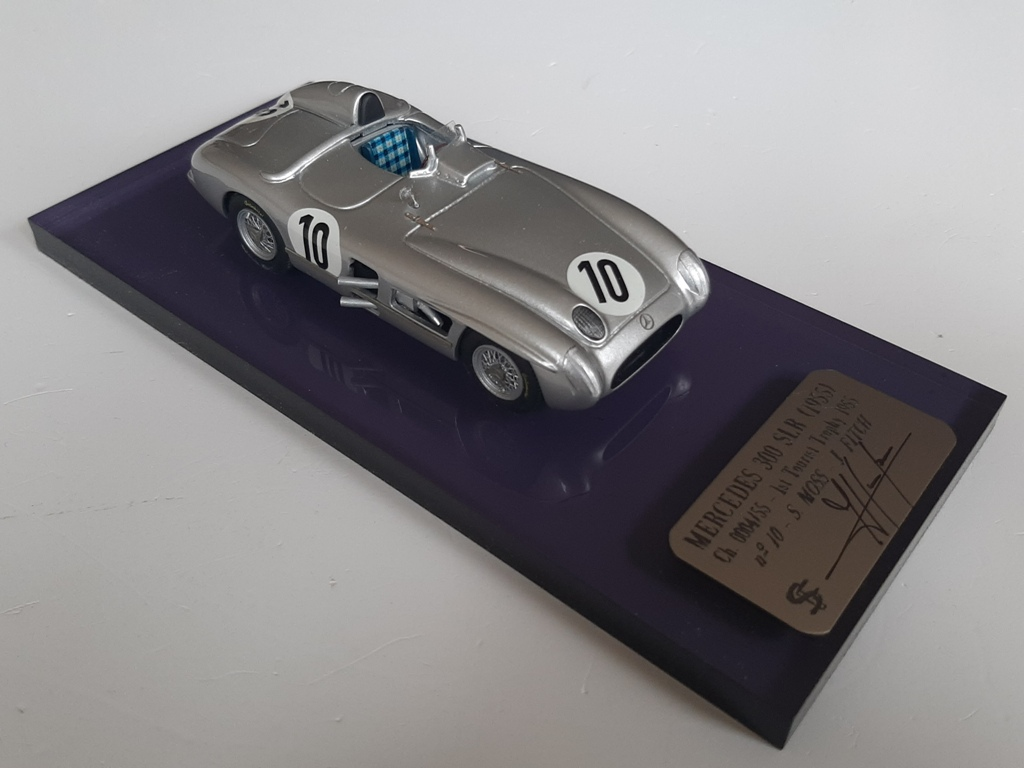 F. Suber : Mercedes 300 slr Winner Tourist Trophy 1955