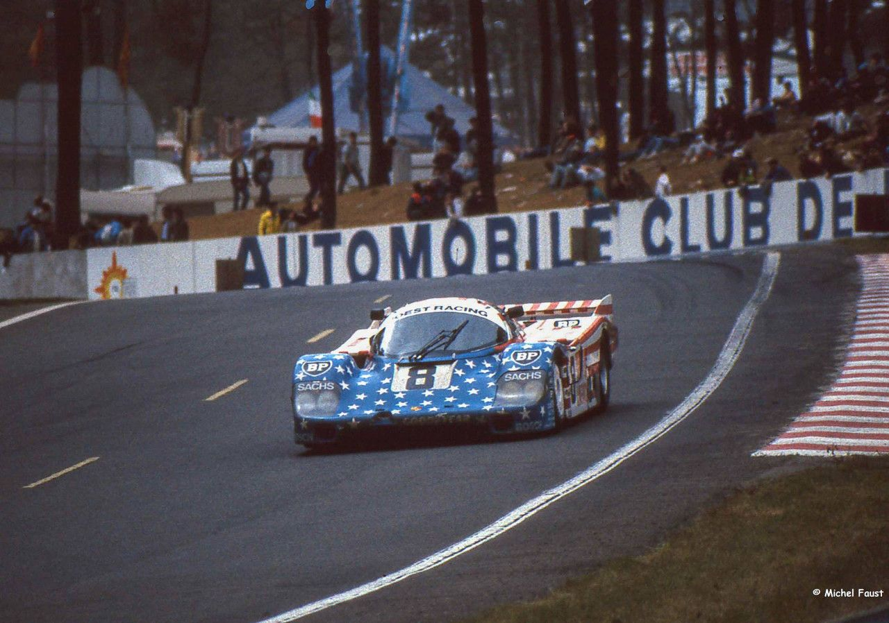 Studio27 : Kit Porsche 956 Spirit of Usa Le Mans 1986