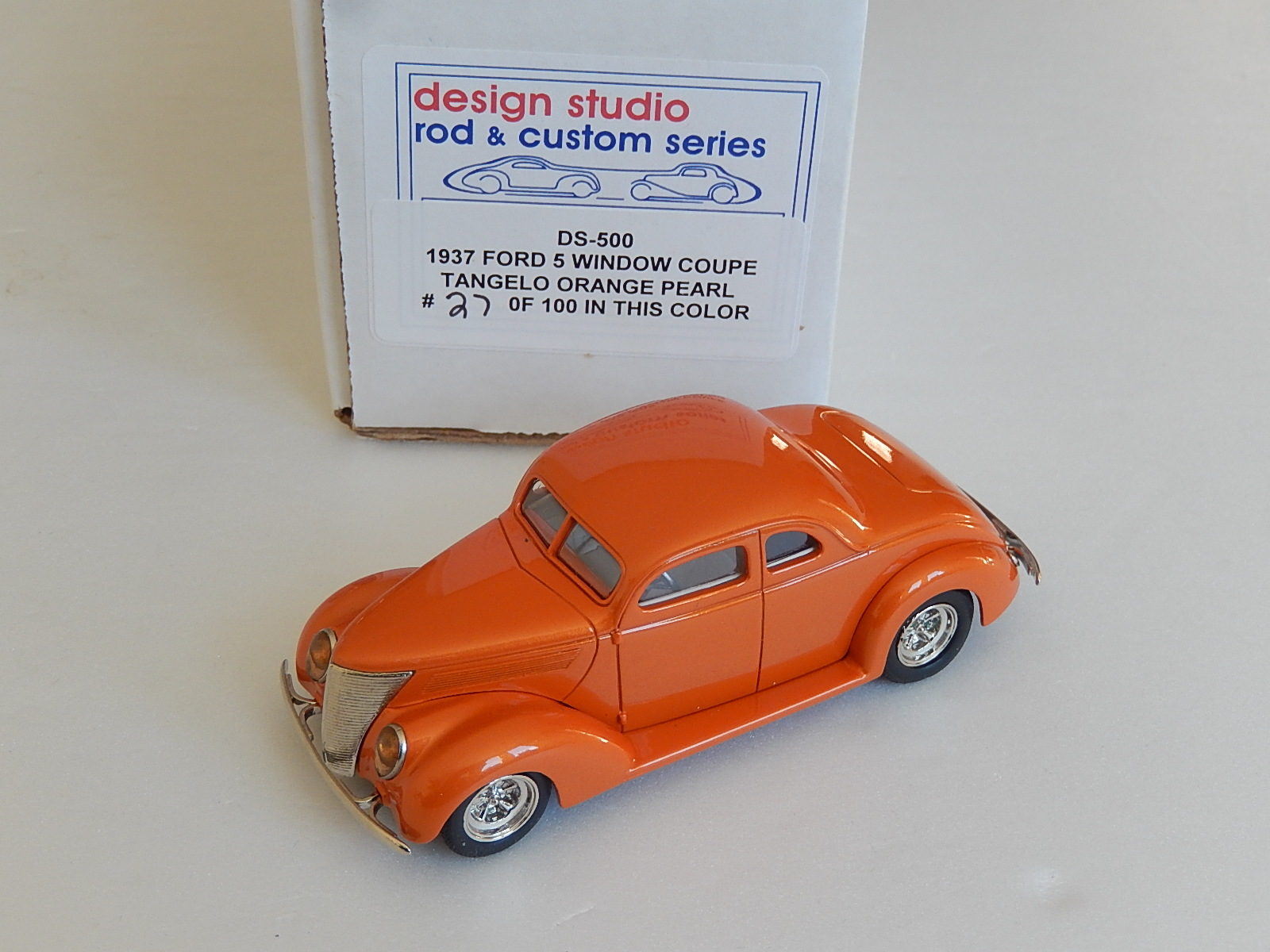 Design Studio : 1937 FORD 5 WINDOW COUPE -> one of the 100
