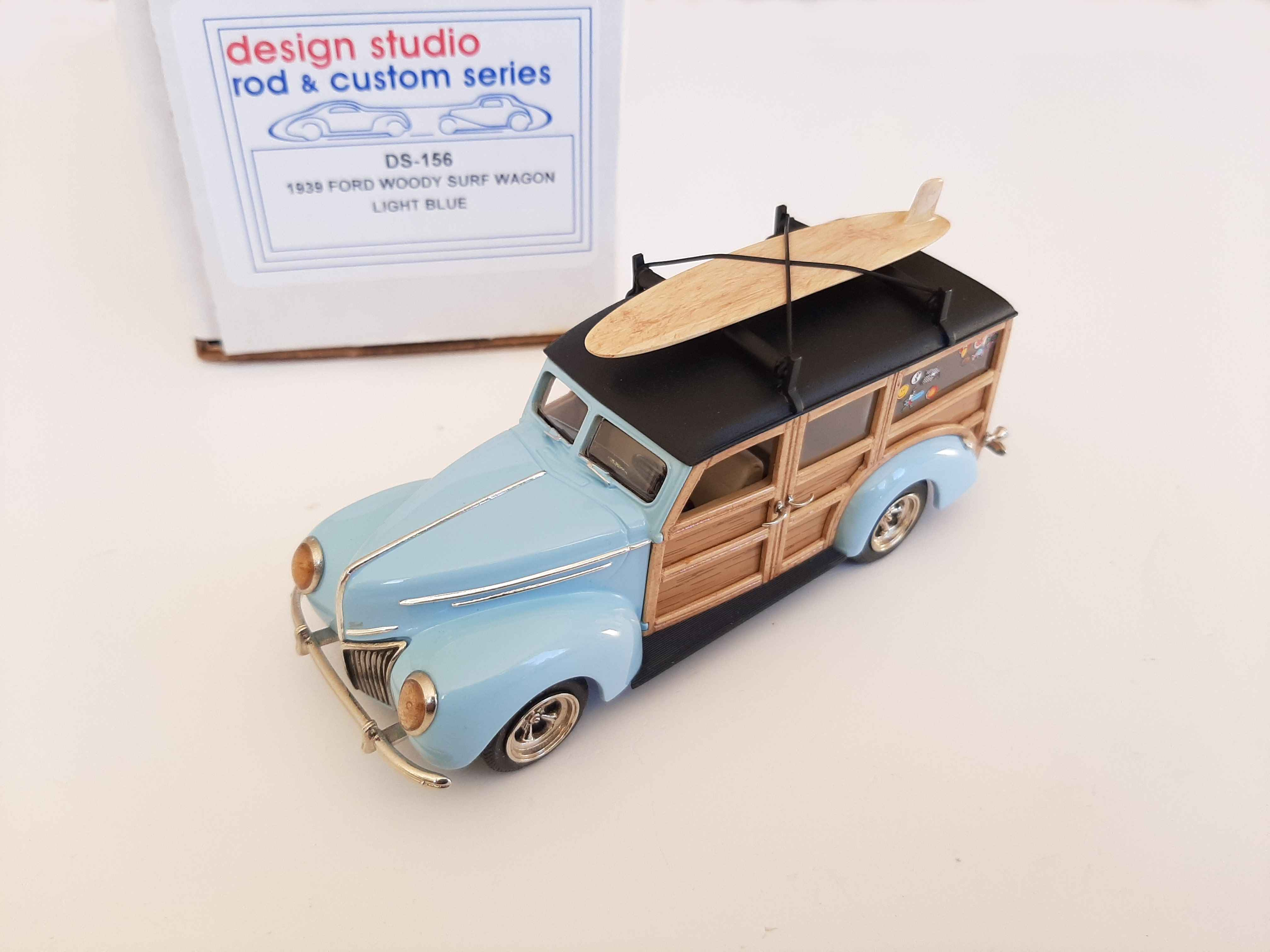 Design Studio : 1939 Ford Woody Surf Wagon