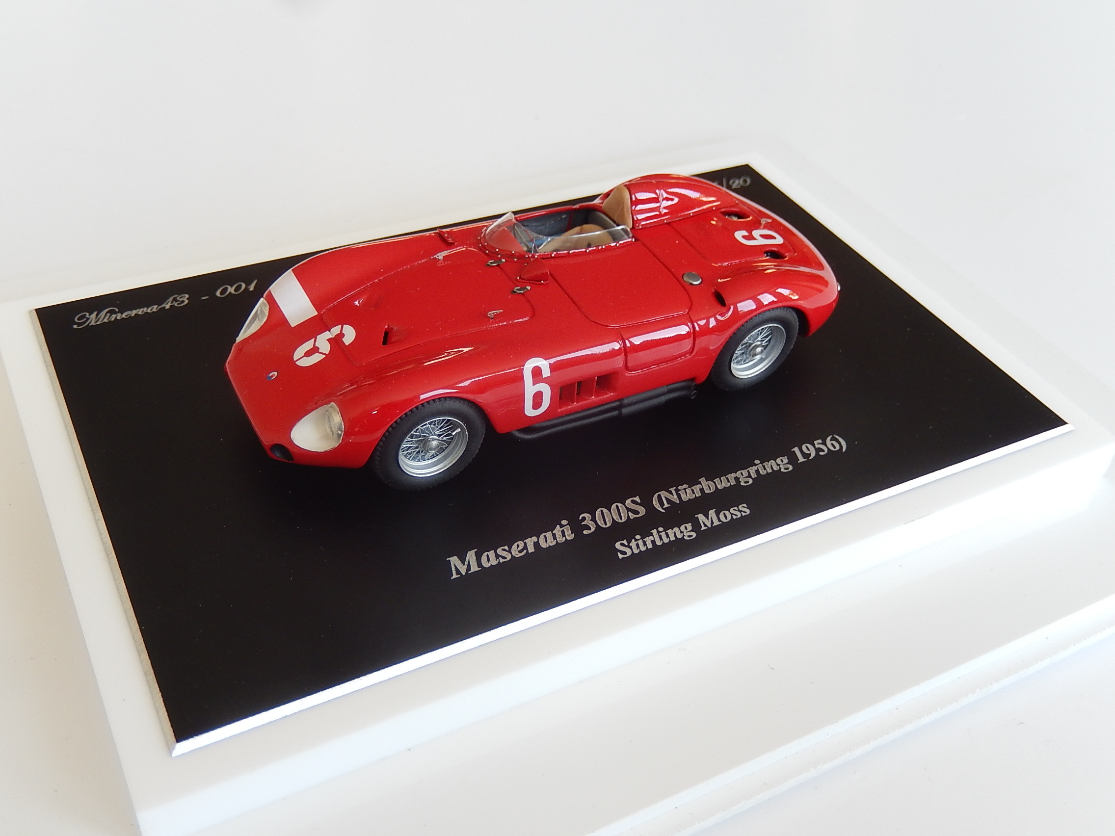 F. Suber : Maserati 300 S Nurburgring 1956 with S.Moss