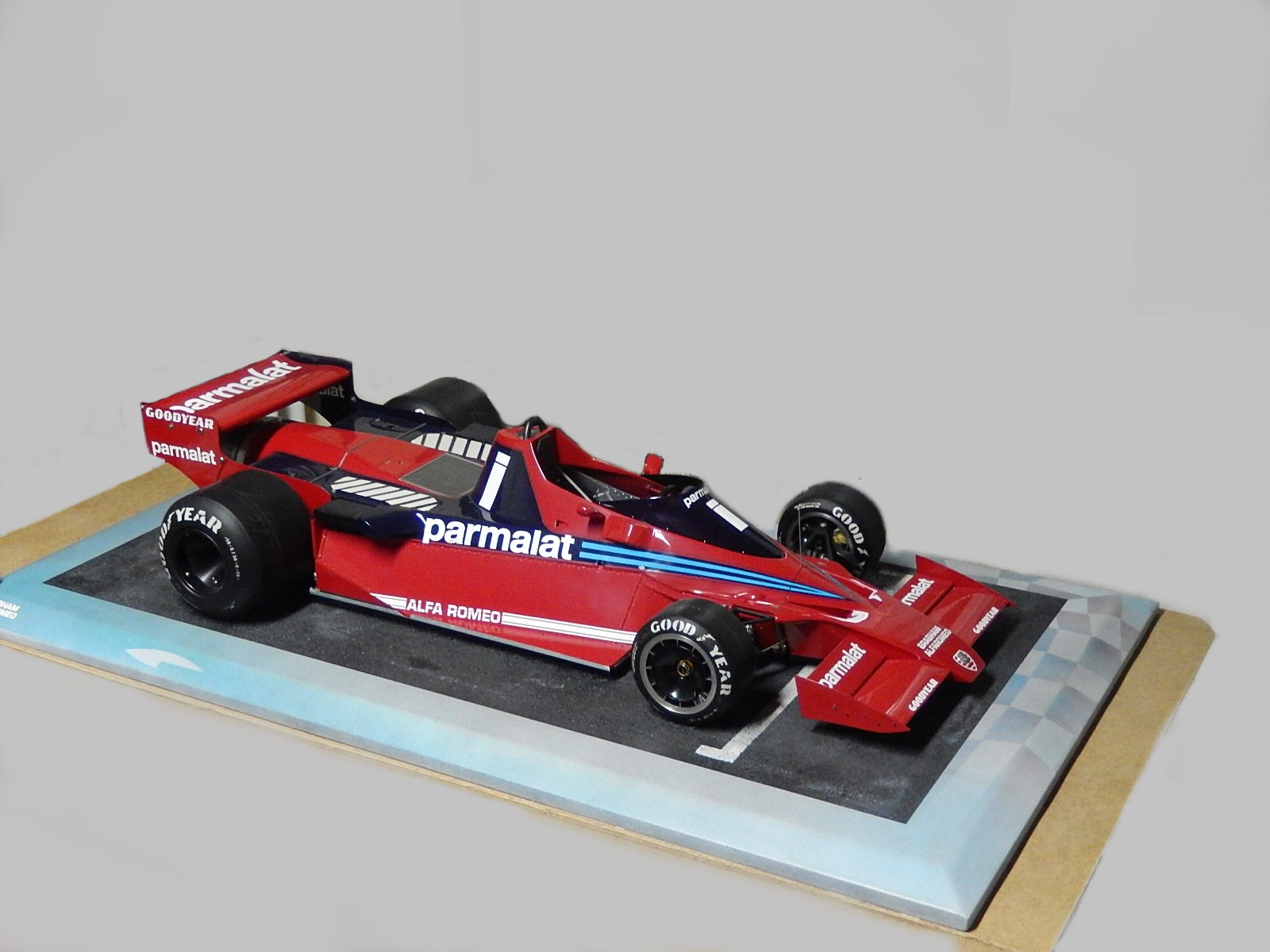 De Conto : Brabham  BT46B in 1/6 scale