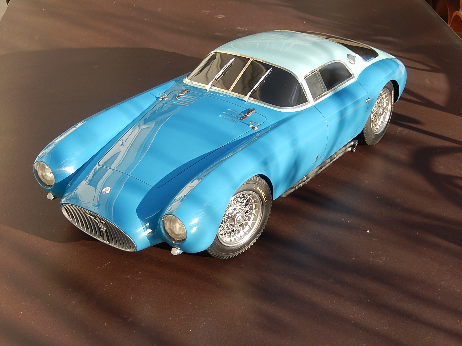 De Conto : Maserati A6 GCS 2057 1954  1/6 Scale  --> One of the