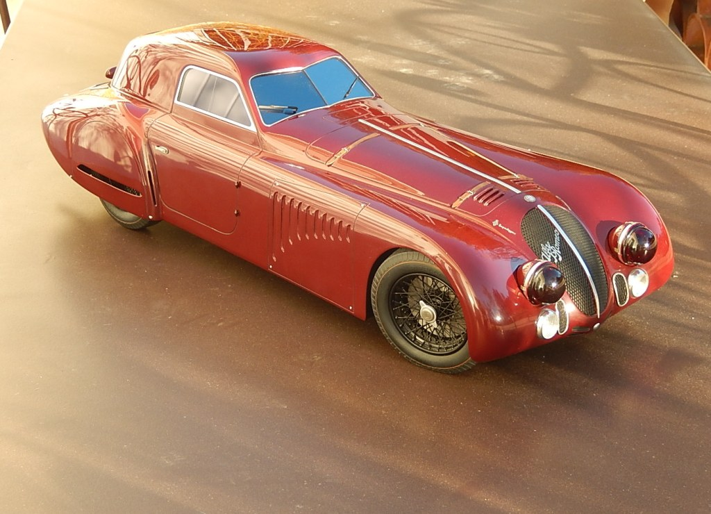 De Conto : Alfa Romeo 8C 2900  1/6 scale --> One of the 3 built