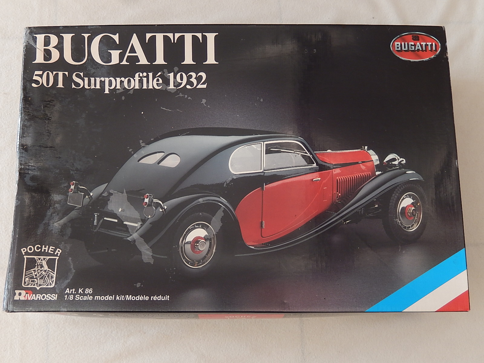 Pocher : Kit Bugatti T50 superprofile 1932