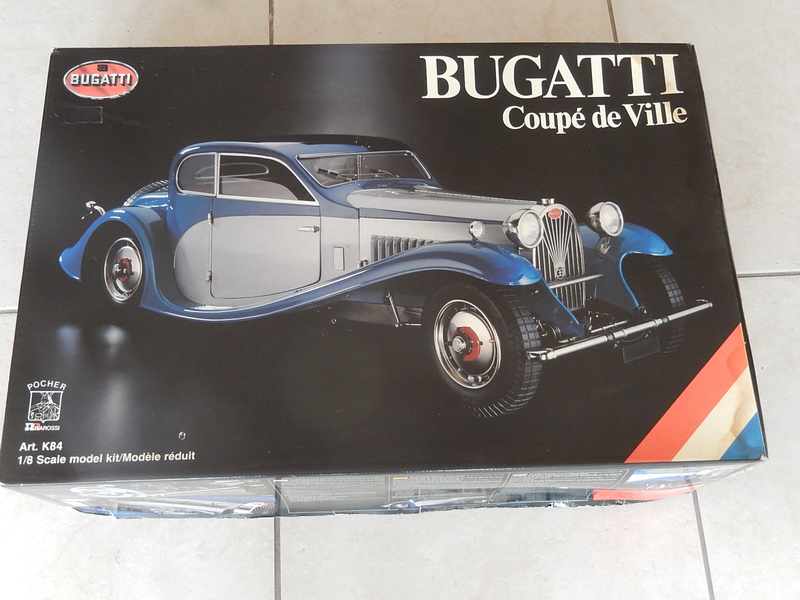 Pocher : Kit Bugatti Coupe de Ville  -> SOLD