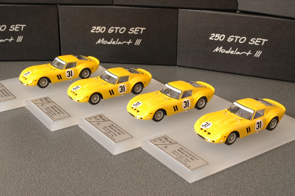 Modelart111 250 GTO Set : #4153 Spa 1965