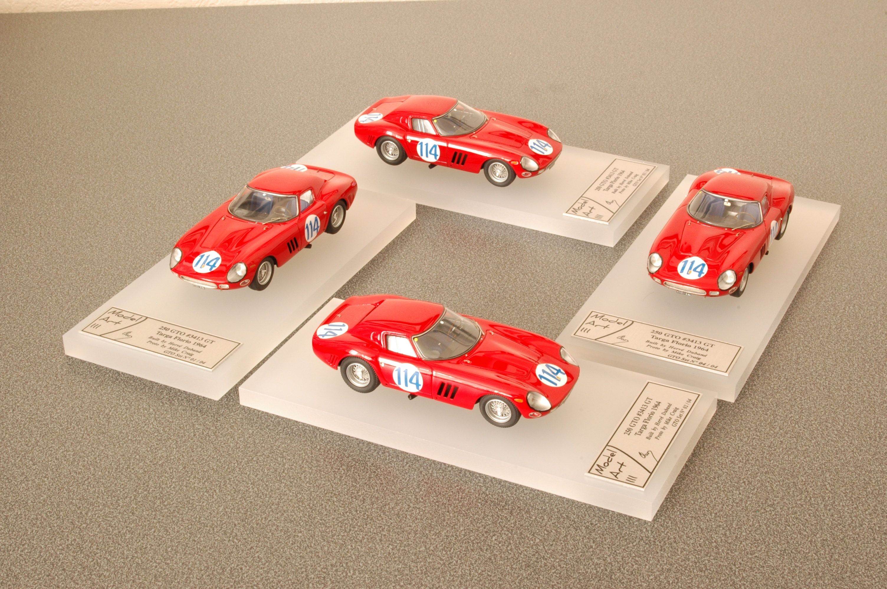 Modelart111 250 GTO Set : #3413 TF 1964