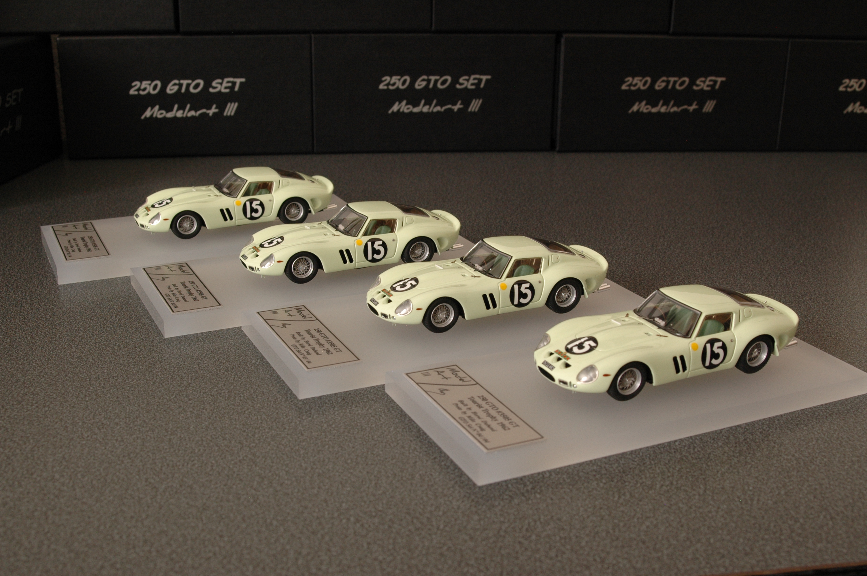Modelart111 250 GTO Set : #3505 Tourist Trophy 1962