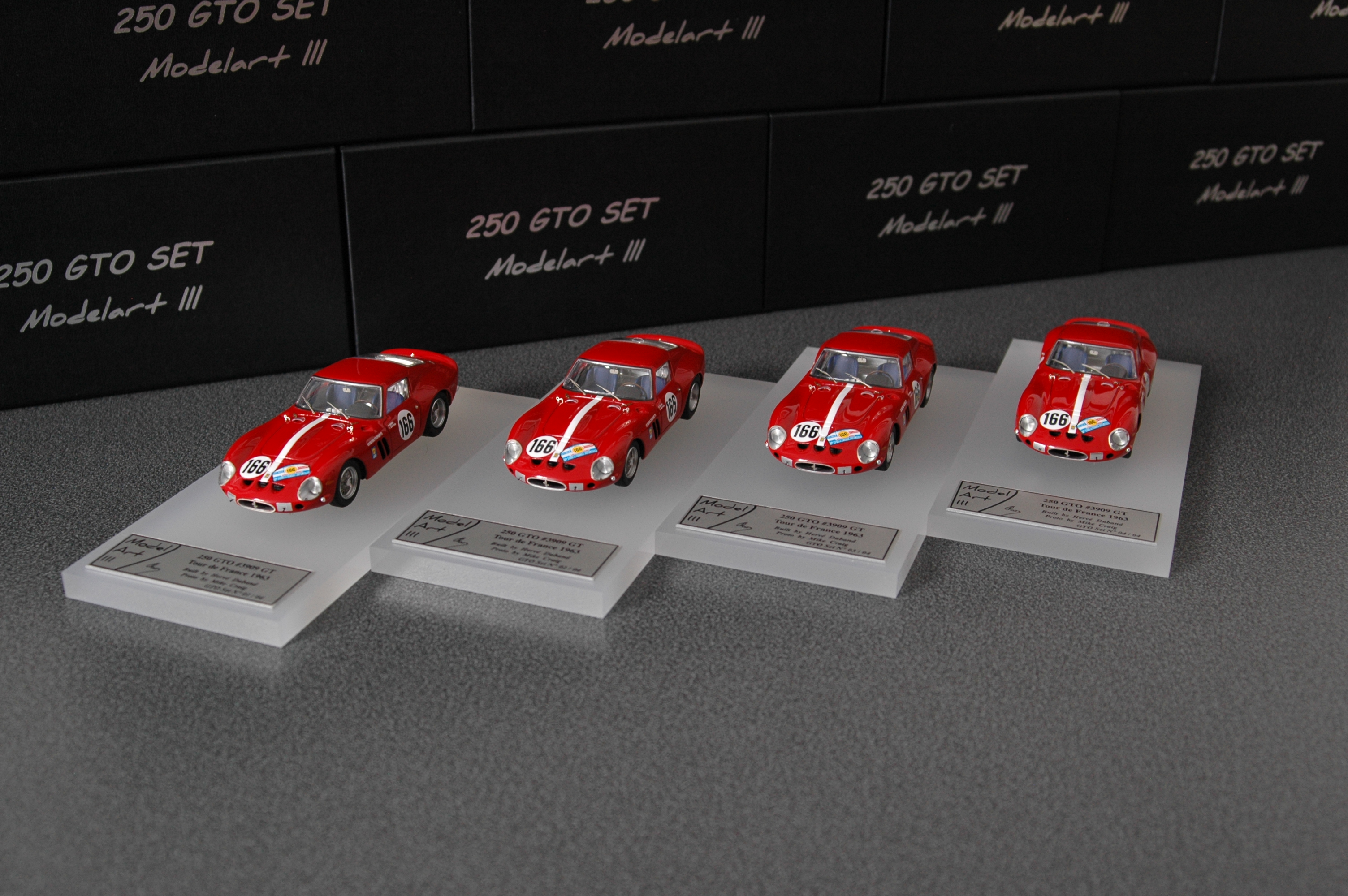 Modelart111 250 GTO Set : #3909 Tour de France 1963