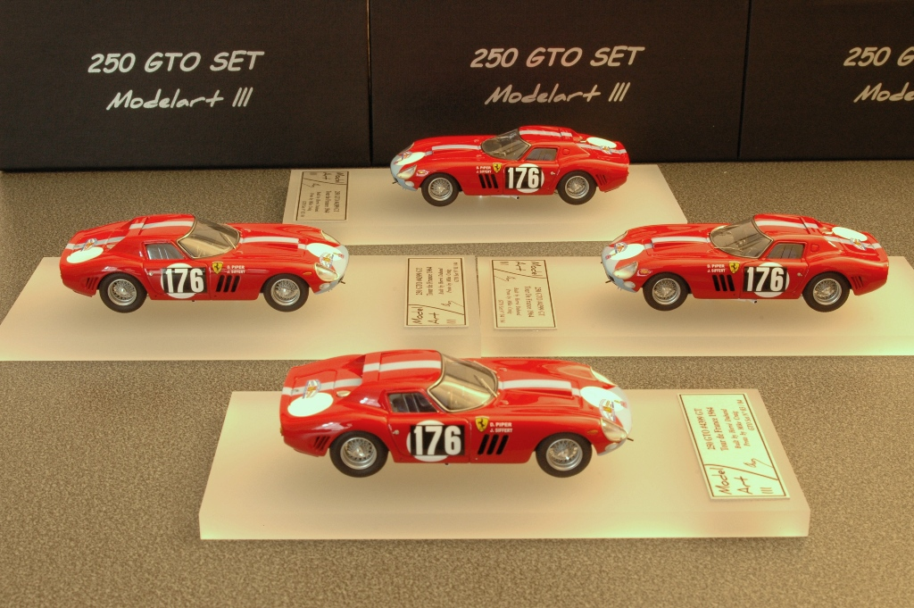 Modelart111 250 GTO Set : #4399 Tour de France 1964