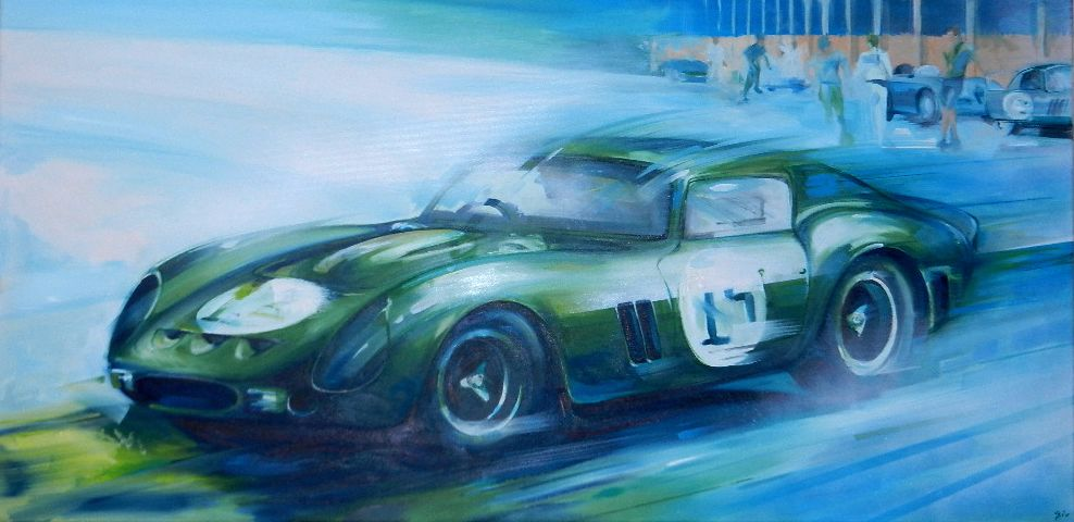 Gio : Automobile serie 38  --> original painting