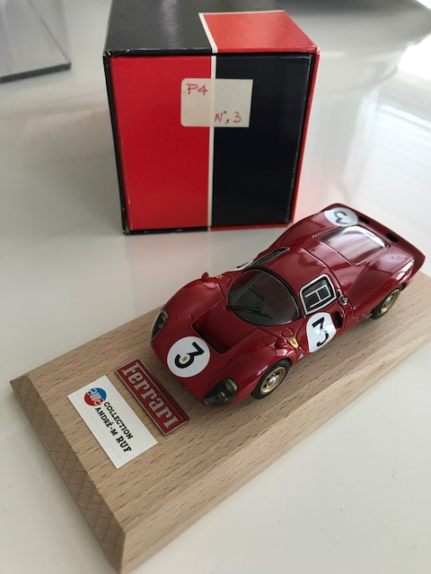 AM Ruf : Ferrari 330 P4 winner Monza 1967 - Collec. Am Ruf