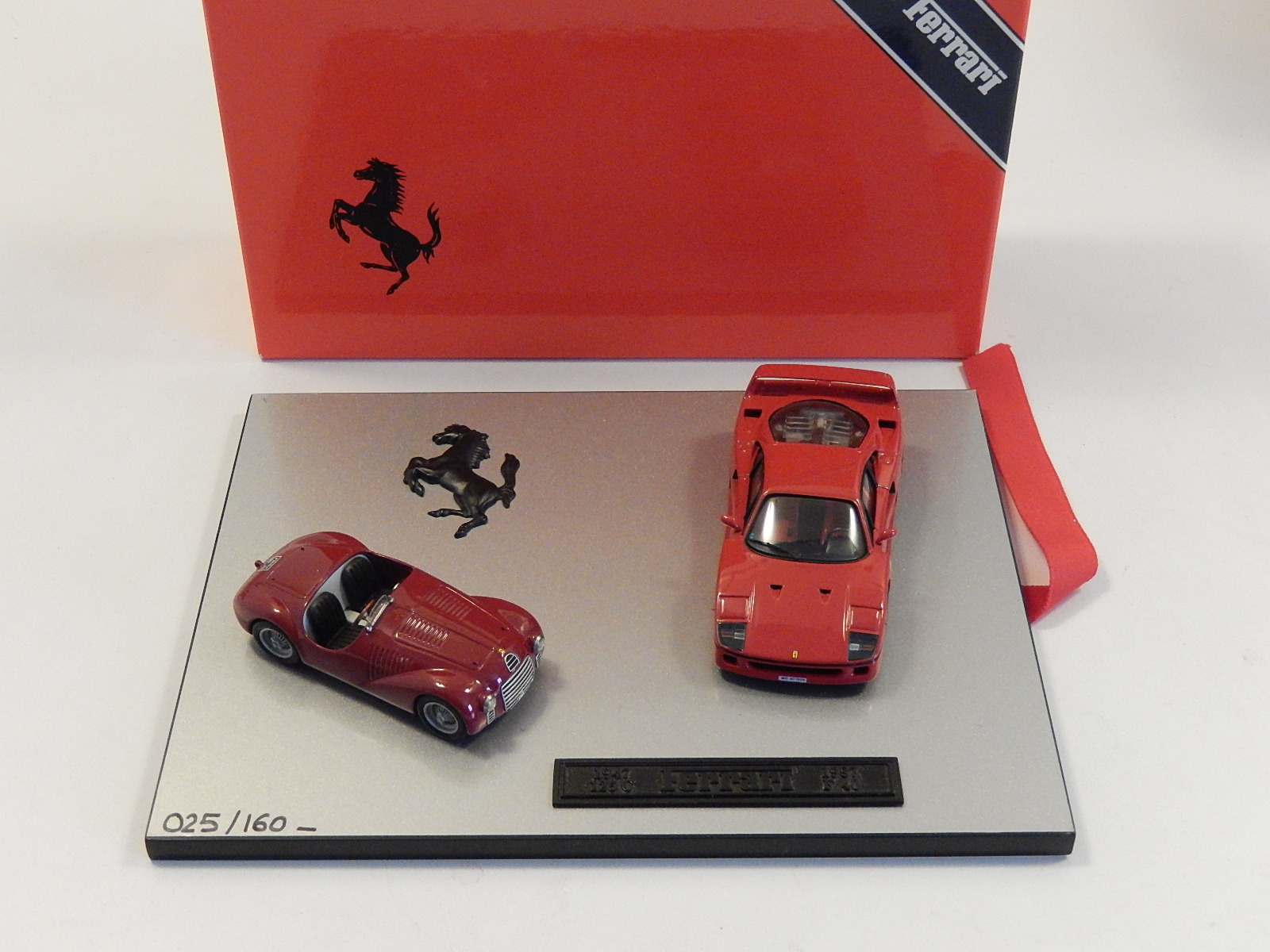 AM Ruf : Ferrari F40 & 125s SET