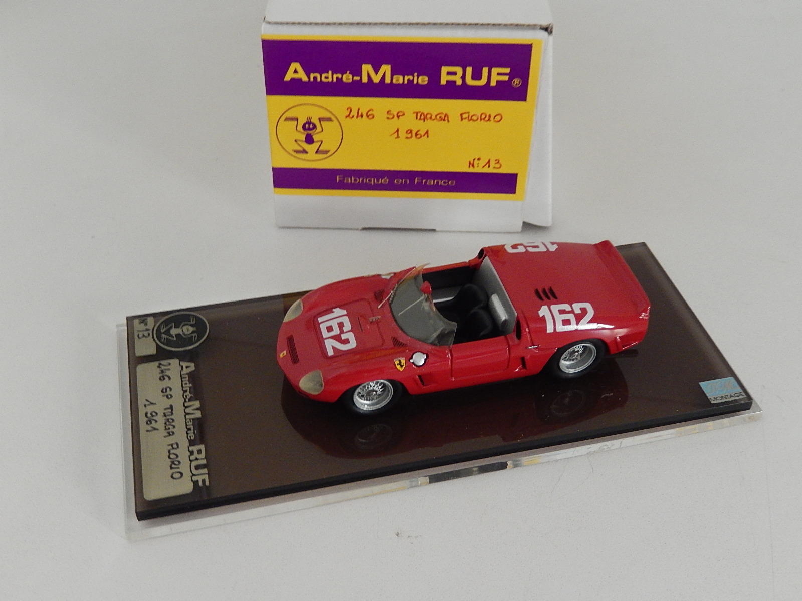 AM Ruf : Ferrari 246 sp winner targa Florio 1961 --> SOLD
