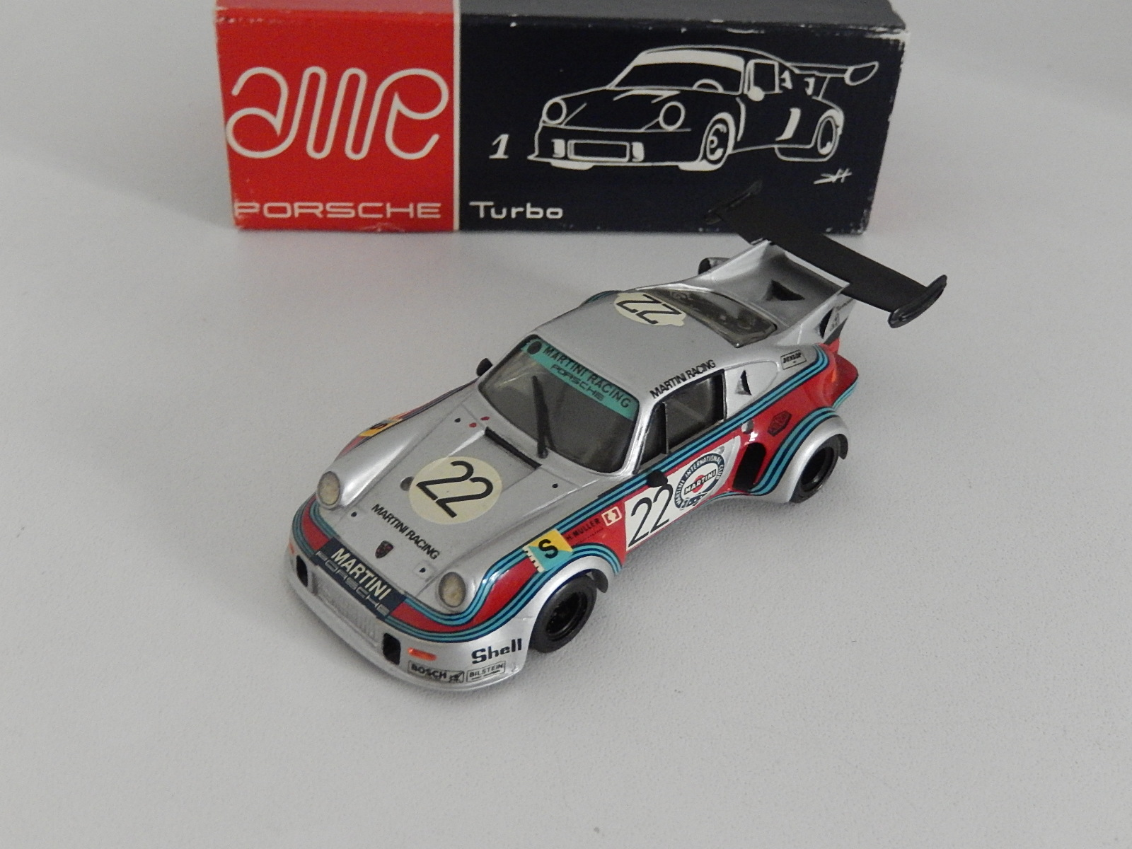 AM Ruf : Porsche 911 Turbo RSR Le MANS 1974